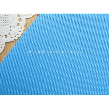 Голубой кант (рант) для кукольной обуви, 5*18 см