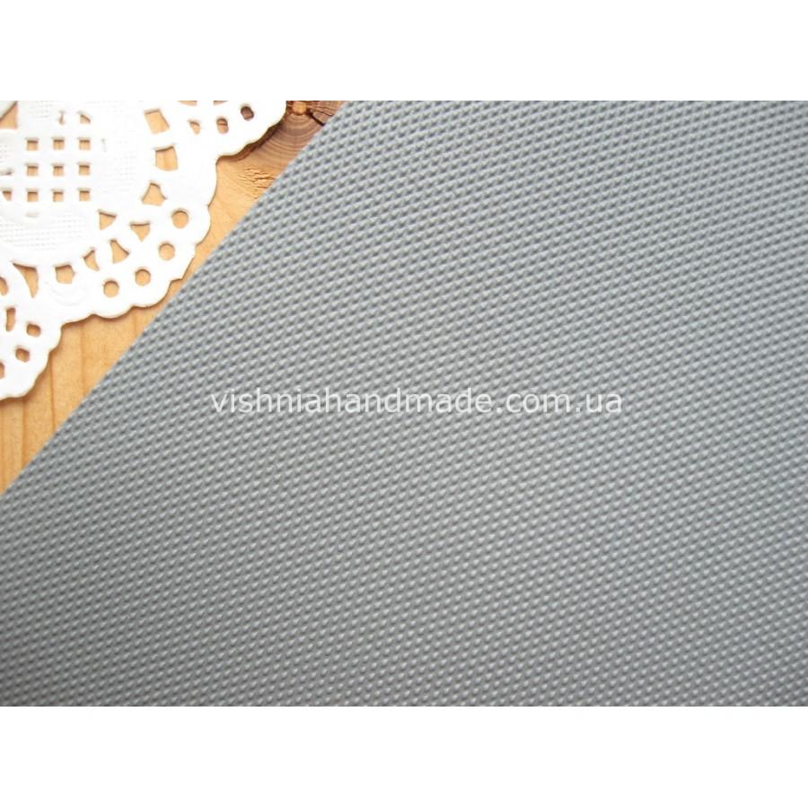 Серый кант (рант) для кукольной обуви, 5*18 см