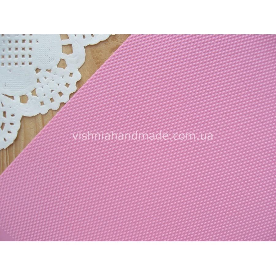 Розовый кант (рант) для кукольной обуви, 5*18 см