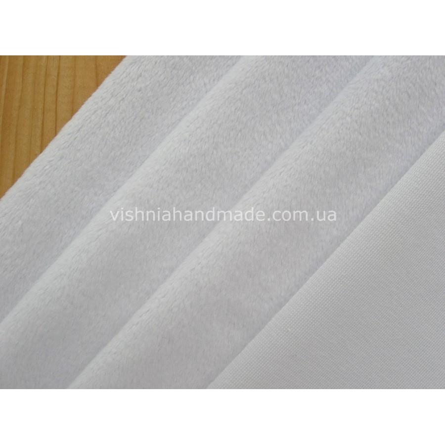 Белый плюш для игрушек, 50*36 см