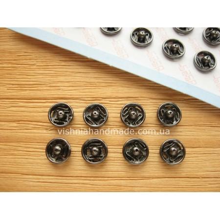 Мини кнопки для кукол 6 мм, черные