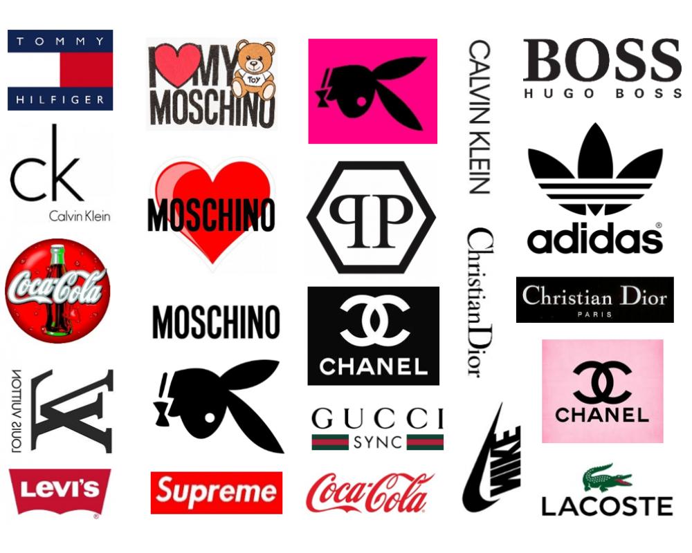 Известные марки одежды в картинках