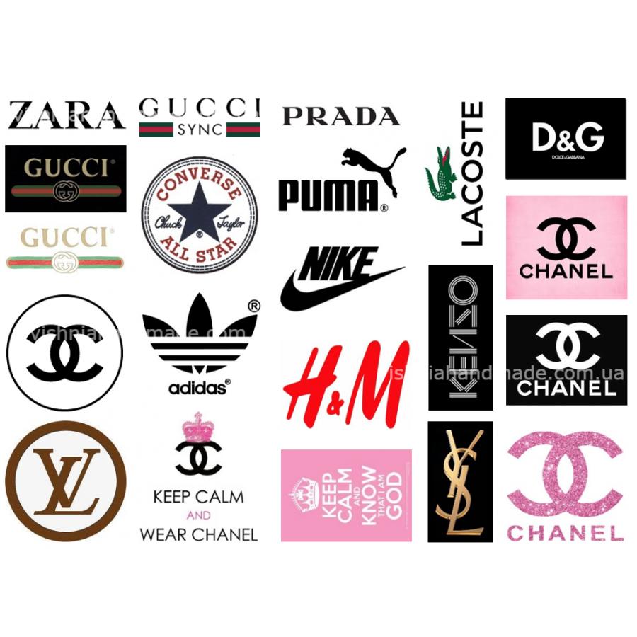 картинки с разными брендами способ подходит лишь