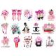 Термонаклейки для кукол «Розовые мечты», для белых тканей