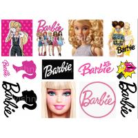 Термонаклейки для кукол «Барби», для белых тканей А6