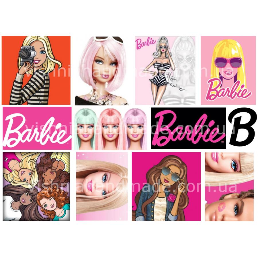 Термонаклейки для кукол «Барби», для черных/цветных тканей