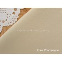 Американский телесный хлопок  Kona Cotton Champagne 22.5*55 см, плотность 145 г/м2