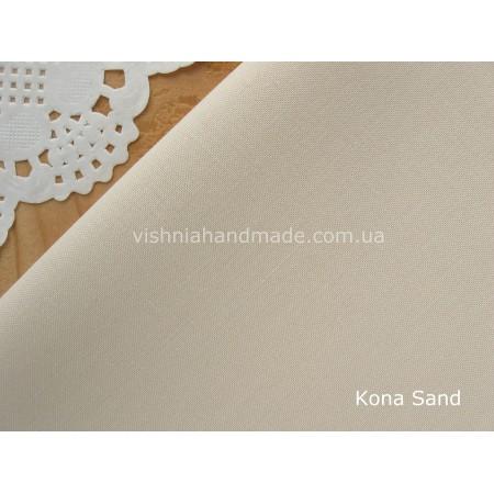 Американский телесный хлопок  Kona Cotton Sand 22.5*55 см, плотность 145 г/м2