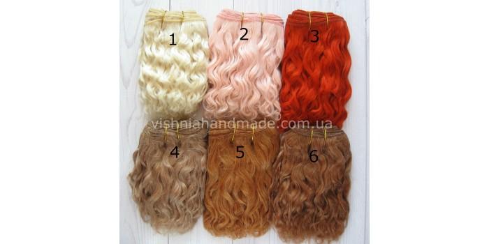 Волосы трессы для кукол (9)