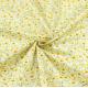 """Отрез сатина для рукоделия """"Желтые цветочки на молочном"""", 50*40 см"""