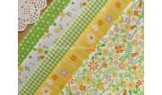 Ткани для рукоделия с цветочным рисунком (26)