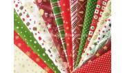 Новогодние ткани для рукоделия (2)