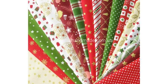 Новогодние ткани для рукоделия (16)