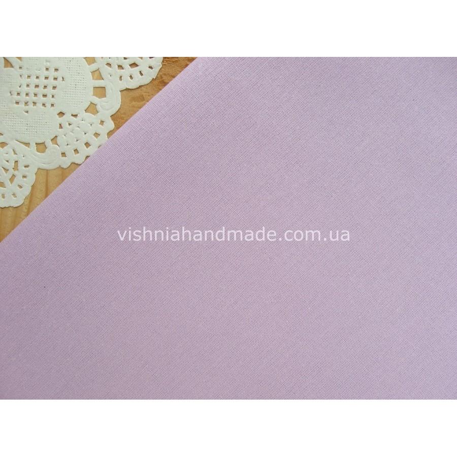 Польская бязь сиреневого цвета 40*50 см, плотность 135 г/м2