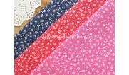 Ткани для рукоделия с цветочным рисунком (17)