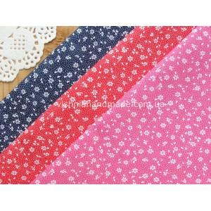 Ткани для рукоделия с цветочным рисунком