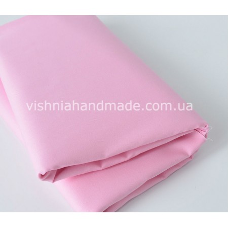 Отрез розового поплина для кукольной одежды, 50*36 см