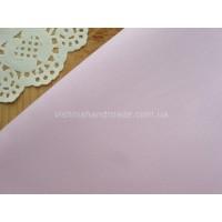 Отрез светло розового сатина для рукоделия, 25*40 см