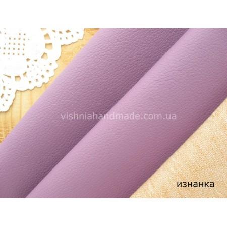 Фиолетовый кожзам для кукольной обуви, 20*28 см