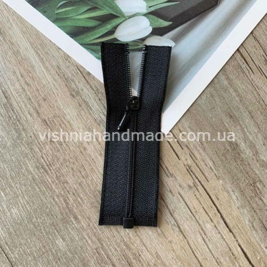 Черная разъемная микро молния для кукольной одежды, 8 см
