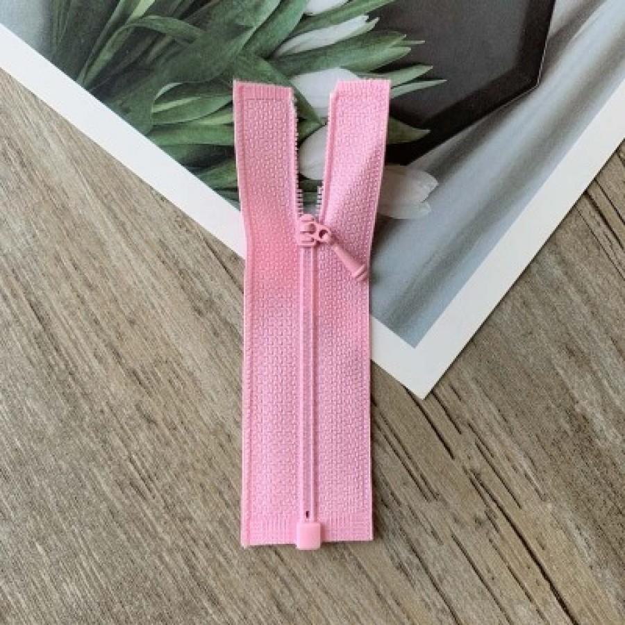 Розовая разъемная микро молния для кукольной одежды, 8 см