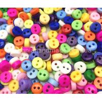 Микс разноцветных пуговиц 6 мм для кукольной одежды, 30 шт