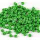 Зеленые пуговицы 6 мм для кукольной одежды, 20 шт