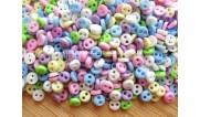Мини фурнитура для кукольной одежды - пуговицы, кнопки, липучка (21)