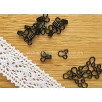 Черные мини крючки для кукол, 6 мм, 10 комплектов