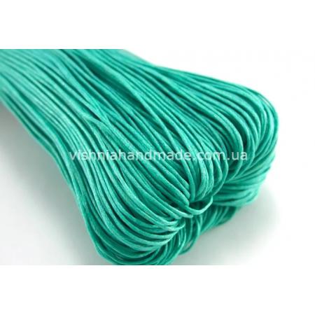 Тифани вощеный хлопковый шнур (1 мм), 1 м